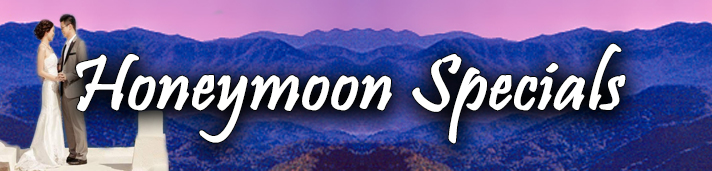 Smokey Mountain Weddings - Honeymoon Specials