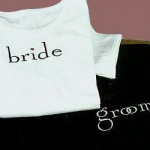 Example of Bride and Groom T-Shirt