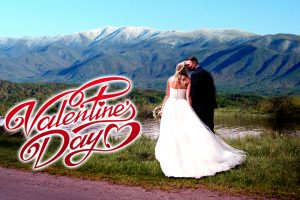 Smoky Mountains Valentines Day Wedding