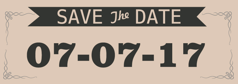 Save the Date Smoky Mountain Wedding 7717